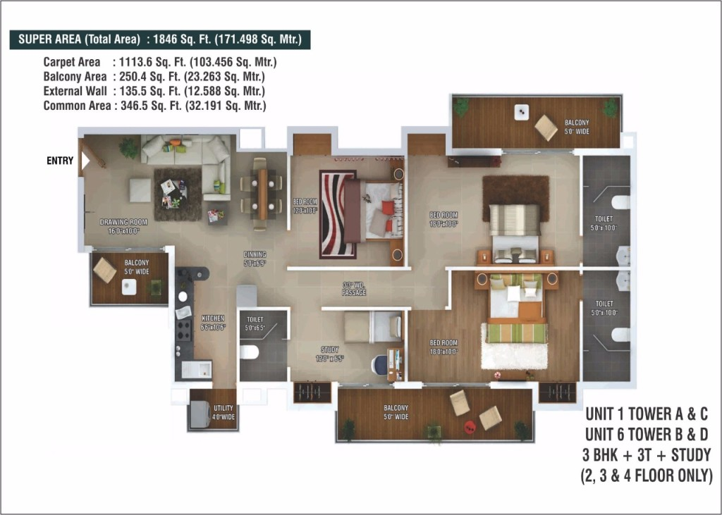 ratan pearls floor plan5