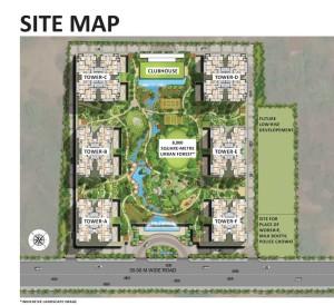 saha-eminence-site-plan